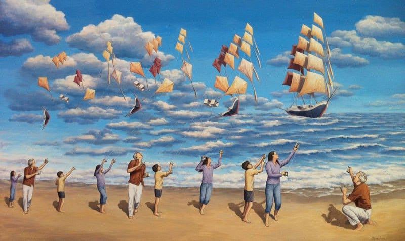 Roberta Gonsales optiskās ilūzijas