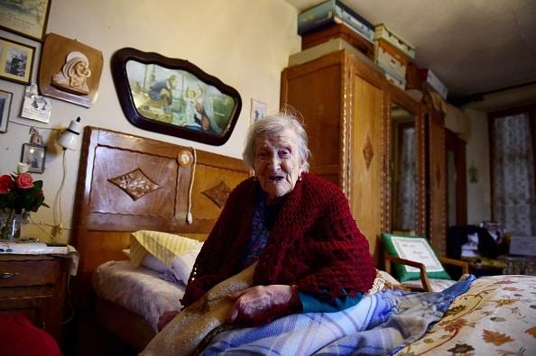 Itāliete Emma Morano vecākā persona uz zemes