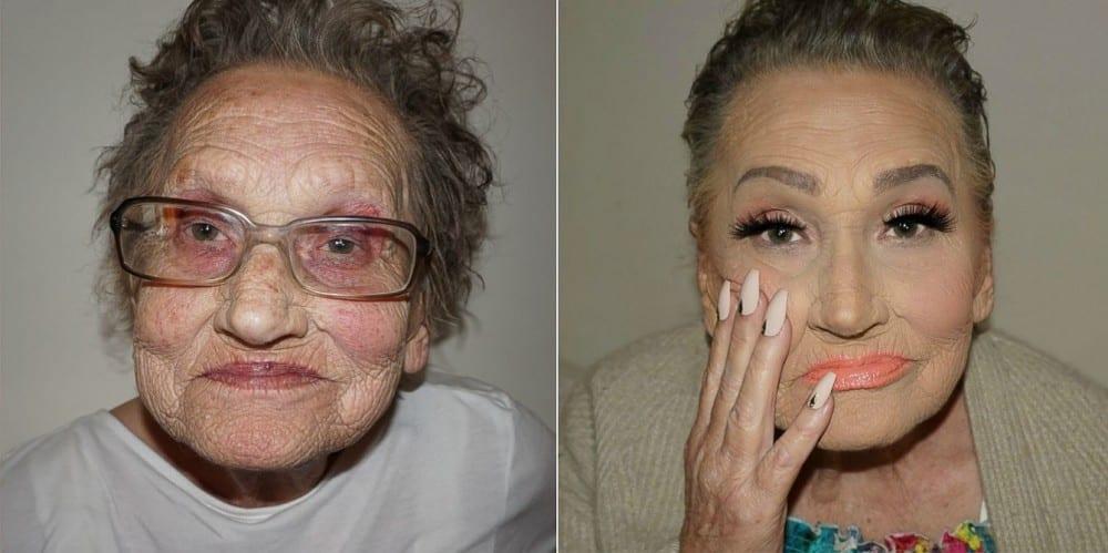 80 gadus vecā vecmāmiņa piedzīvo maģiskās pārvertības