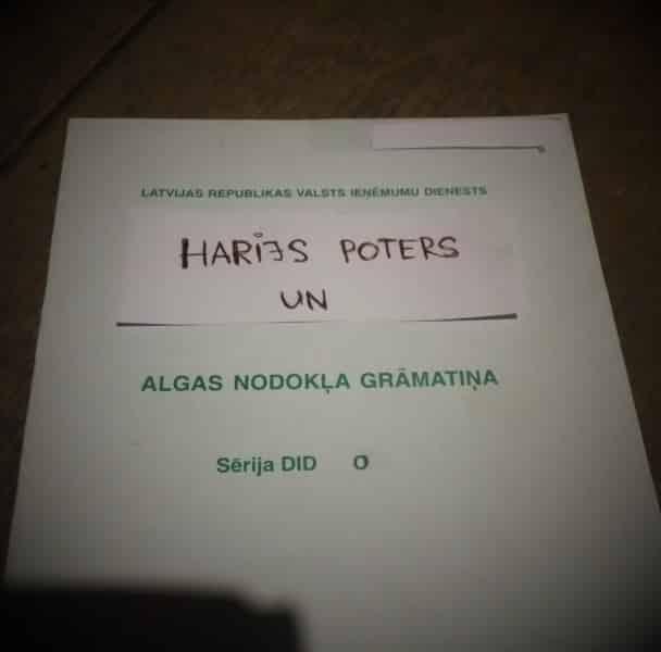 Harijs Poters grāmatu nosaukumi