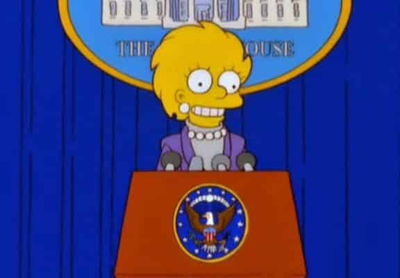 Donalds Tramps Simpsoni